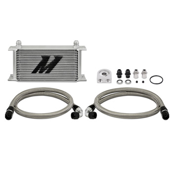 Mishimoto Universal Thermostatic 19 Row Oil Cooler Kit