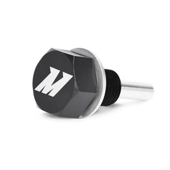 Mishimoto Magnetic Oil Drain Plug M12 X 1 5 Black Vac
