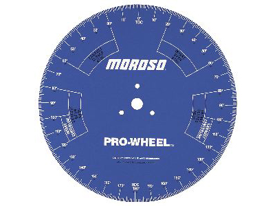 Moroso -  18'' Professional Degree Wheel (for engine assembly and cam timing)