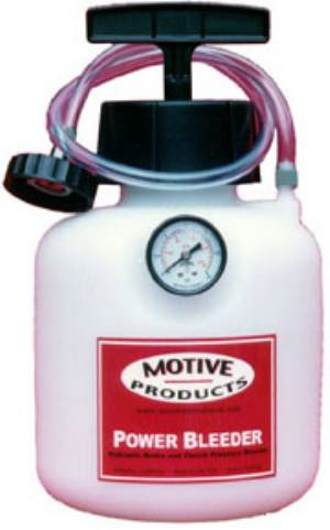 Motive Products European Brake Bleeder System for european cars including BMW MB Audi VW Alfa and more