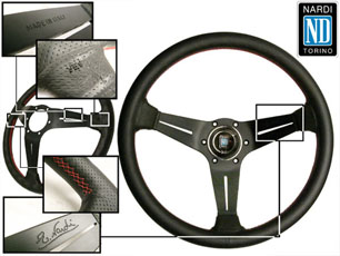 Nardi - Deep Corn Sport Rally Steering Wheels