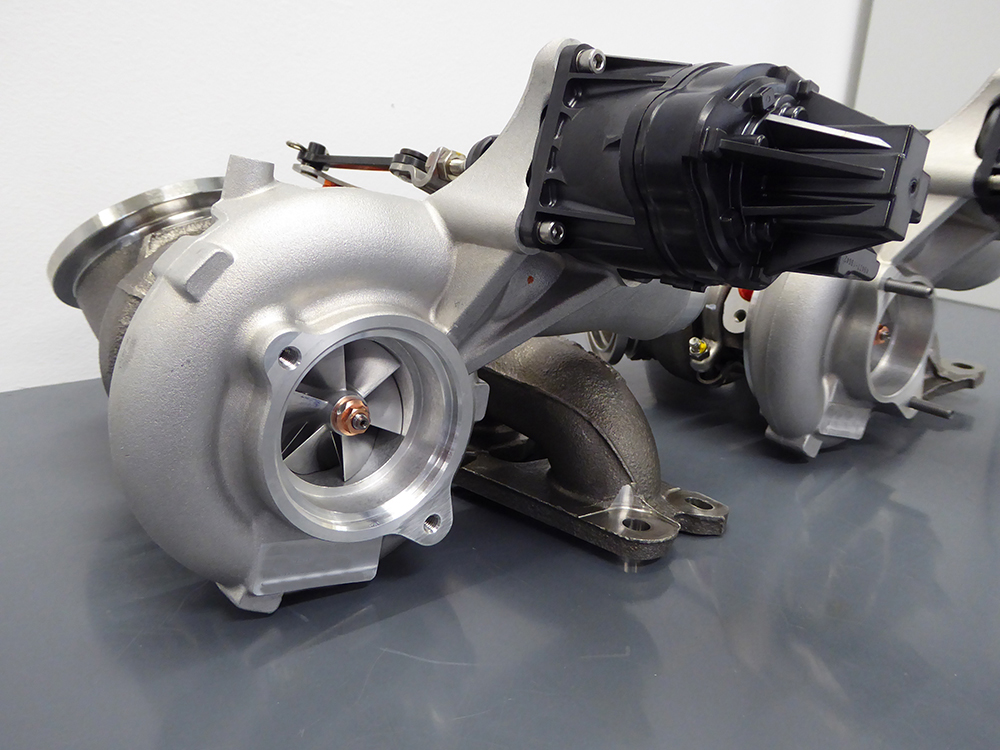 S55 Turbocharger Set - Stage 1