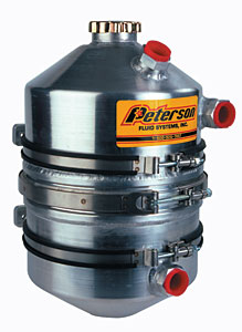 Peterson 4 Gallon Dry Sump Tank with Integrated Dip Stick MAIN