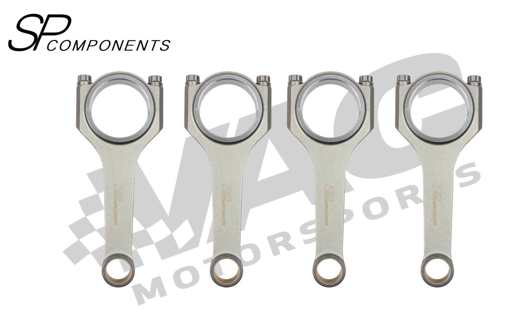 SP Components Forged Connecting Rod Set, Mini Cooper W10 & W11 Tritech THUMBNAIL