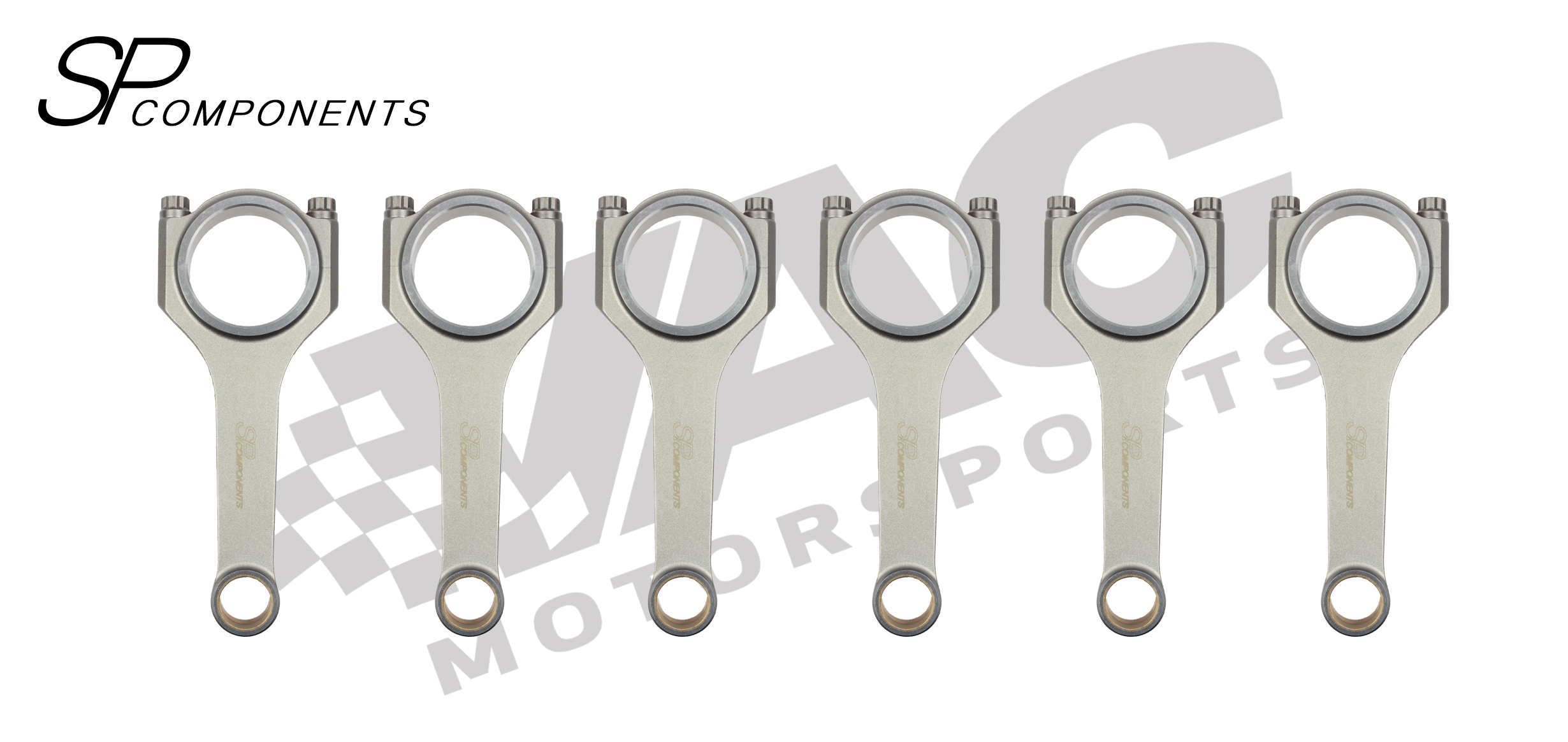 SP Components Forged Connecting Rod Set (BMW S38B38) MAIN