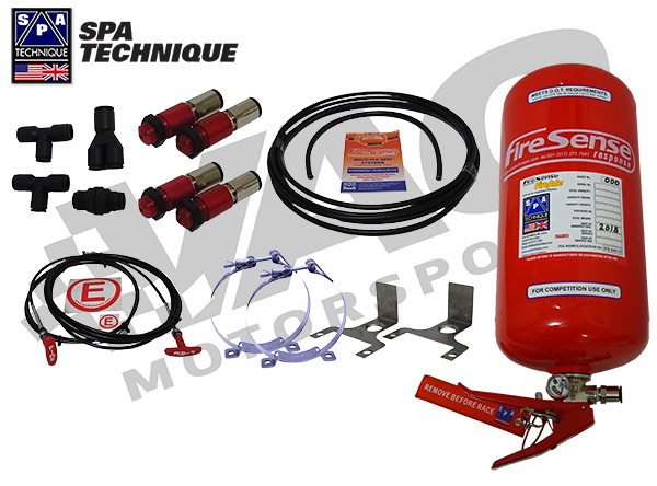 SPA Mechanical Fire Suppression System, 4 Litter AFFF MAIN