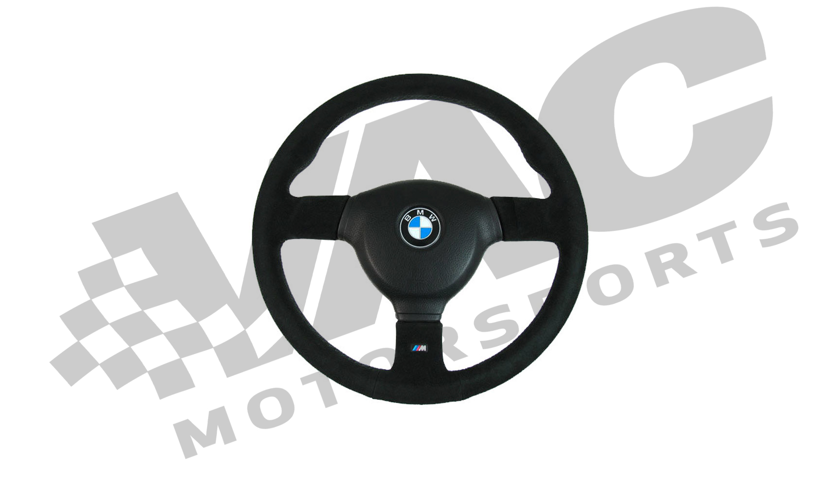 BMW E30 M-Sport Steering Wheel Evo 3 (Suede) THUMBNAIL
