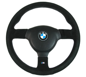 BMW E30 M-Sport Steering Wheel Evo 3 (Suede)