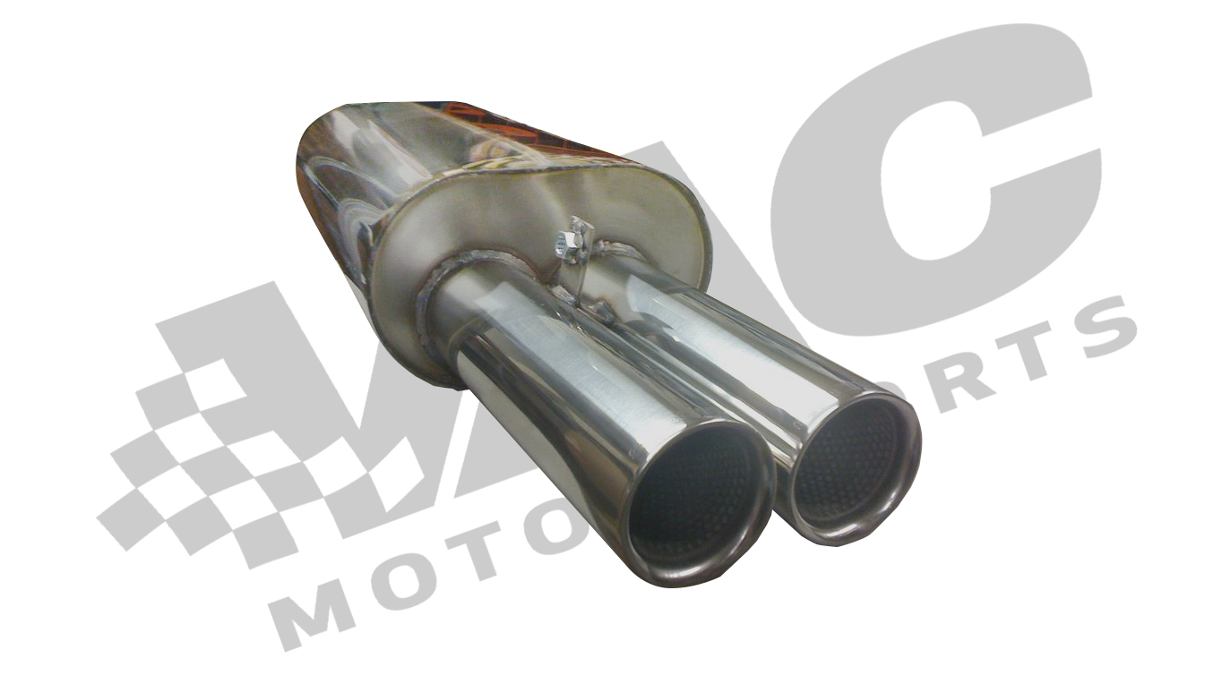 Stromung - Performance Rear Section Exhaust, E30 6cyl THUMBNAIL