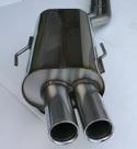 Stromung - Performance Rear Section Exhaust, E36 M3, 325i, 328i