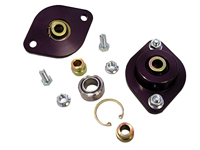 TCK - Rear Upper Shock Mounts, Race / Mono ball  Style E30 / E36 / E46 / Z3 & Z4 (inc M)