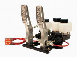 Tilton Floor Mount Pedal Assembly, 2-Pedal