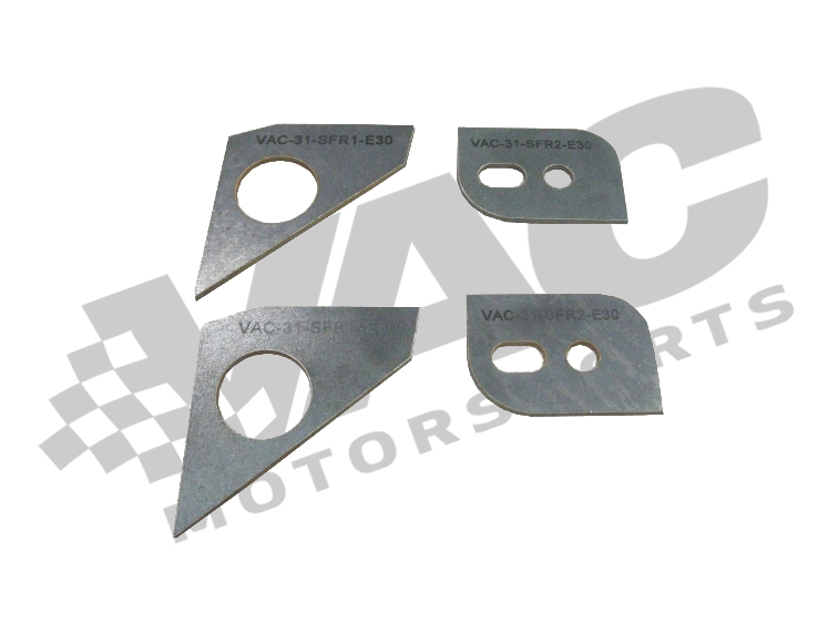 VAC - E30 (all) Front Subframe/ Crossmember Reinforcement Set MAIN