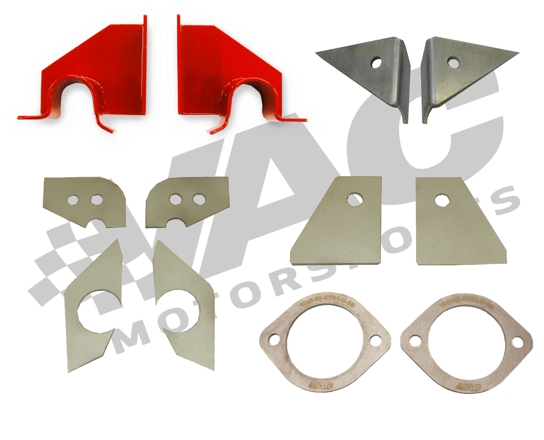 VAC BMW E30 Complete Chassis Reinforcement Kit MAIN