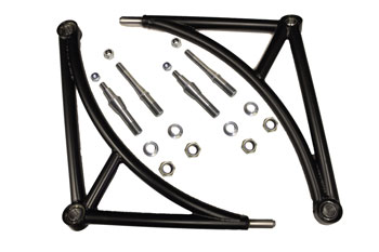 VAC E46 M3 Race Front Control Arms, Tubular Steel