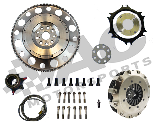 VAC Ultimate Flywheel and Clutch Kit - 7.25in Carbon/Carbon (BMW S54) THUMBNAIL