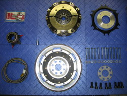 VAC Ultimate Flywheel and Clutch Kit - 7.25in Carbon/Carbon (BMW S54)