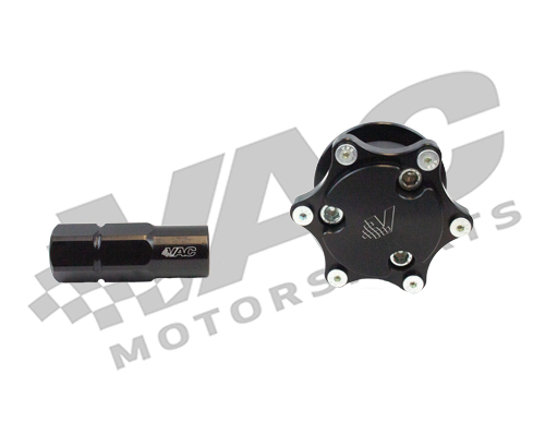 VAC Motorsports Weld On Integrated Quick Disconnect & Hub Kit, Universal THUMBNAIL