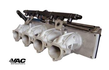 VAC BMW E30 M3 S14 DTM Style Slide Throttle Bodies w/ Fuel Rail