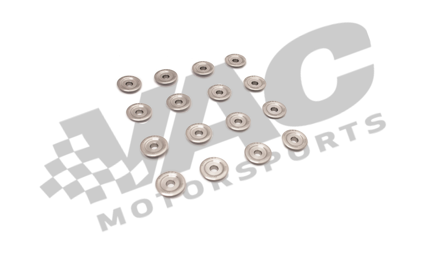 VAC Valve Spring Retainer Set, Titanium, 7mm (16 pcs) BMW S14 MAIN