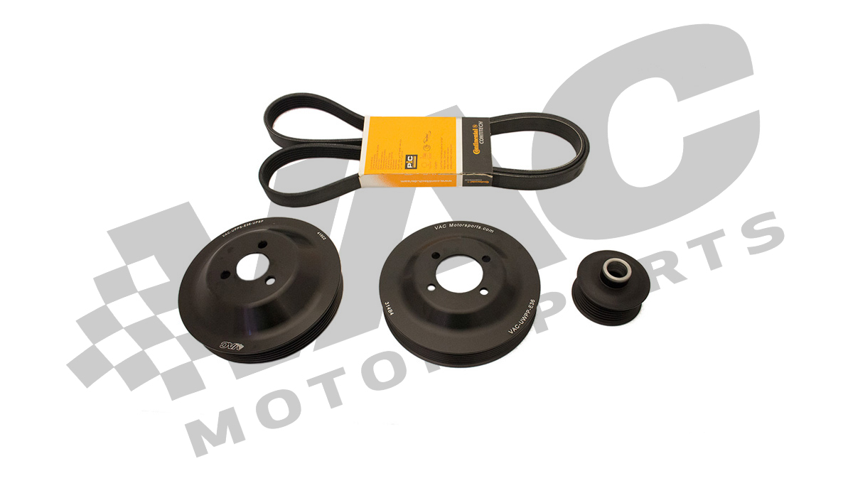 VAC Motorsports Underdrive Power Pulley Set, BMW E36 M3 Euro MAIN