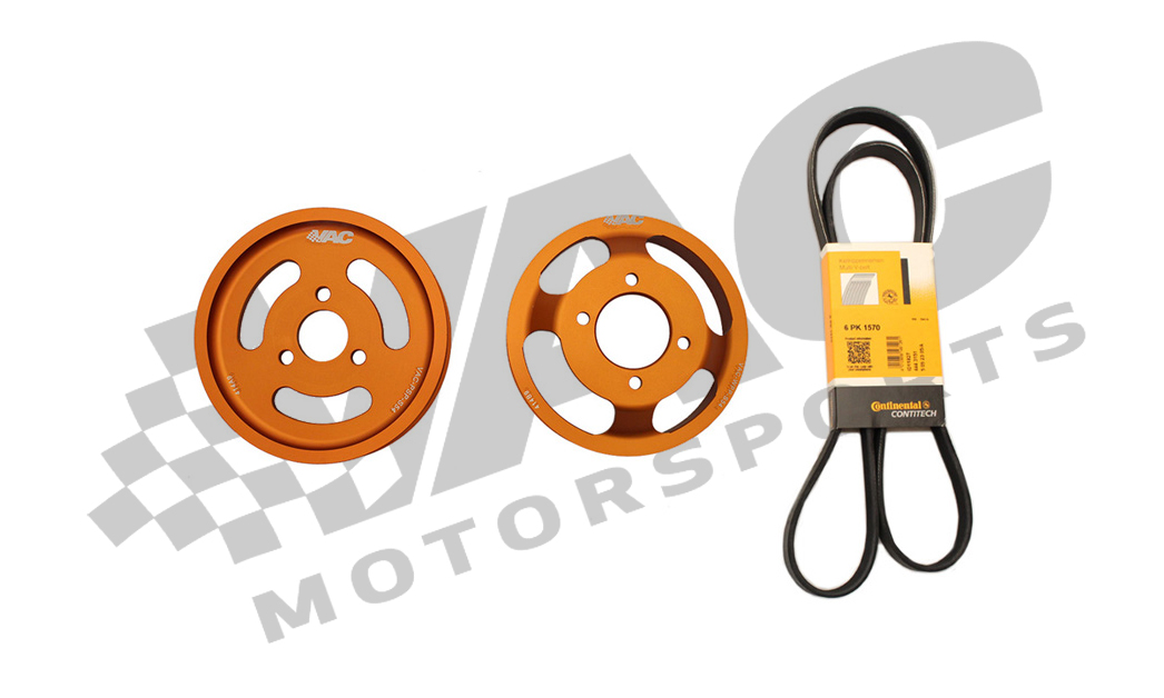 VAC Underdrive Power Pulley Sets for BMW S54 THUMBNAIL