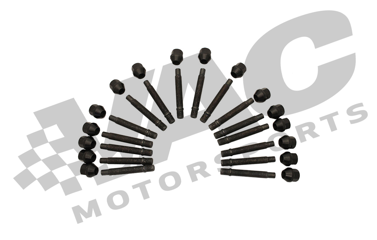 VAC Motorsports  4-lug Wheel Stud Conversion Kit, BMW E30 non-M THUMBNAIL
