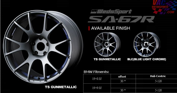 WEDS - WedsSport SA-67R Wheels