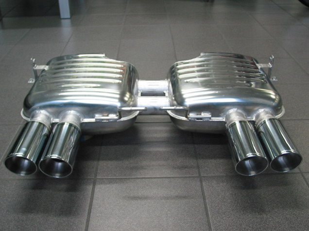 Eisenmann Rear Exhaust BMW M3 E92/E93