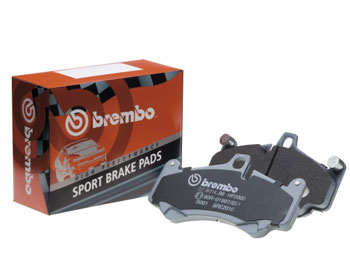Brembo GT/GTR Series Big Brake Pads Set (Most BMW Applications)
