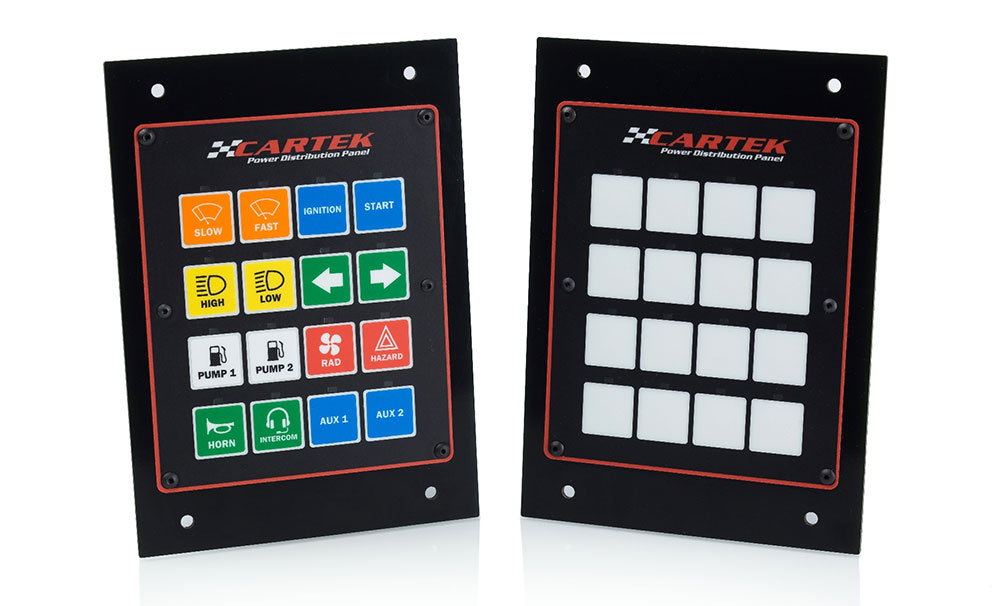 Cartek - 16 Channel Power Distribution Panel SWATCH