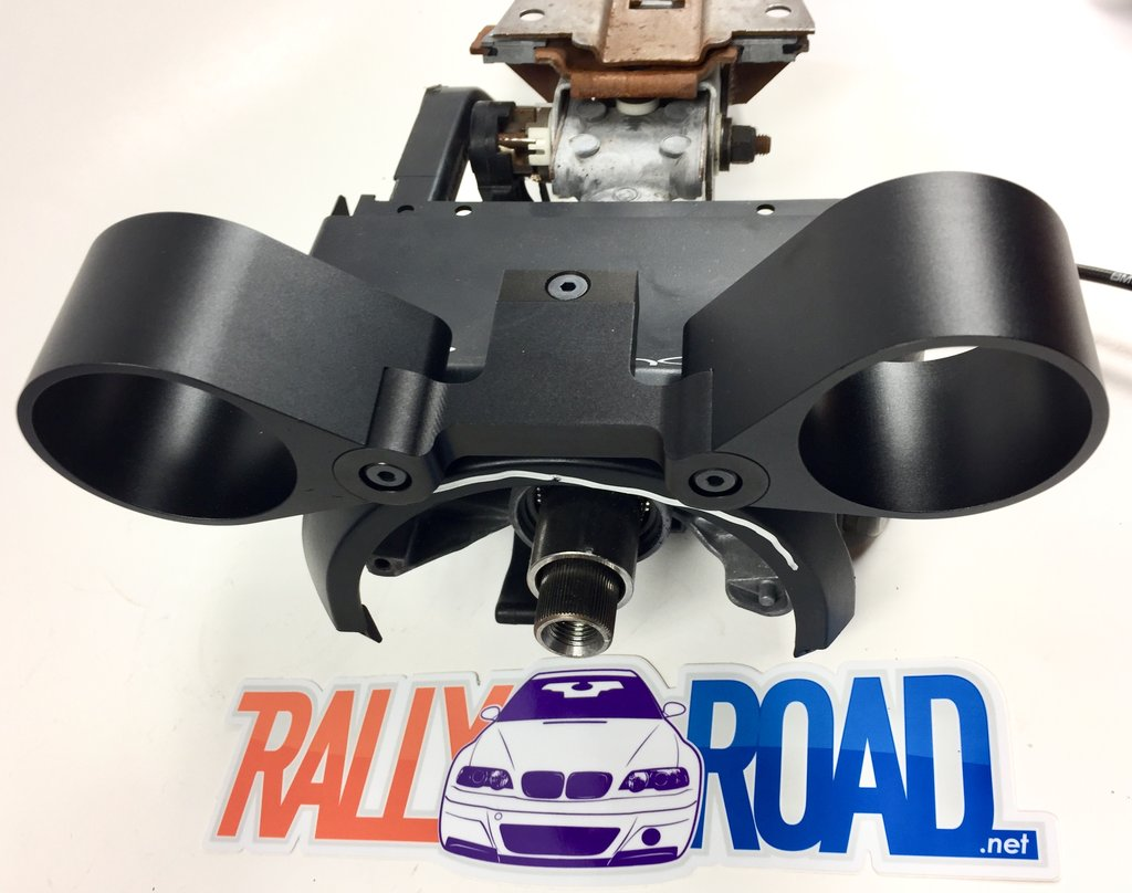 Rally Road - Steering Column Gauge Pods (BMW E46) THUMBNAIL