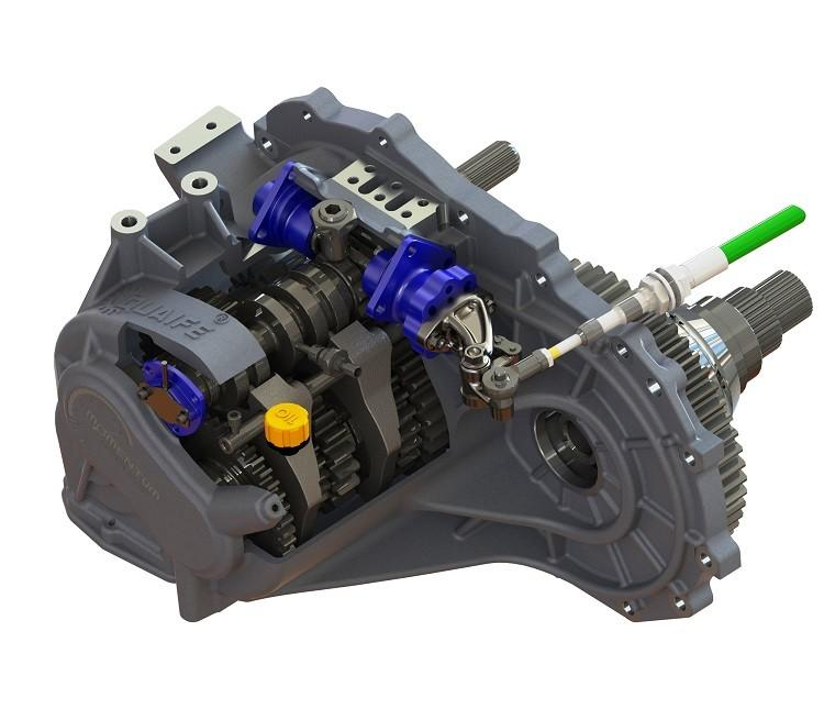 Quaife - QBE6U Sequential Gearbox 5-Speed (Evo 4-9) MAIN