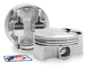 JE Pistons Forged Piston Set (BMW M30B35)