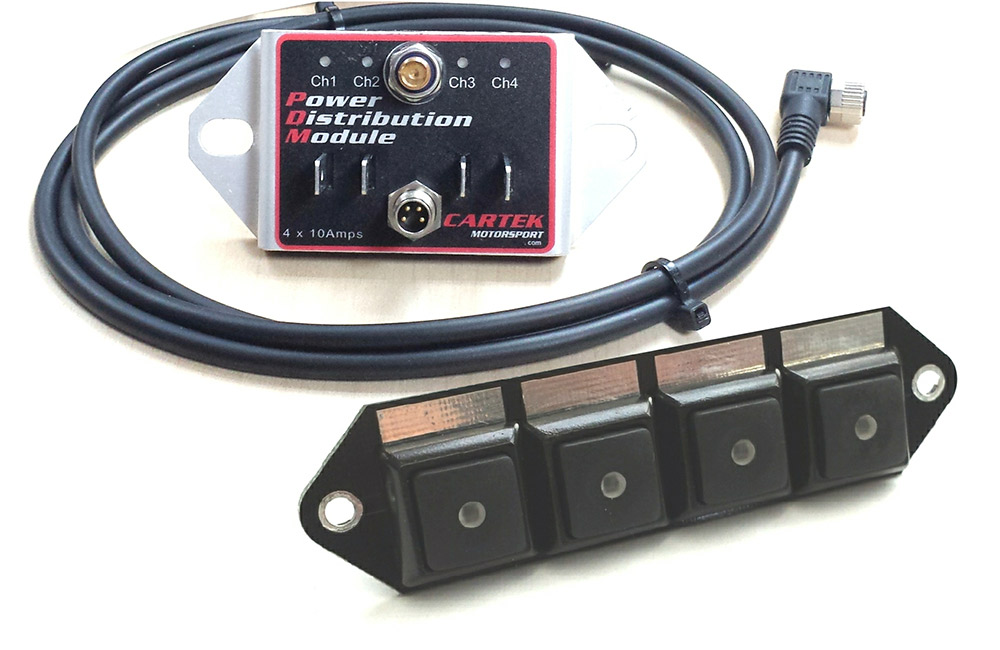 Cartek - Power Distribution Module 4 Button Kit THUMBNAIL