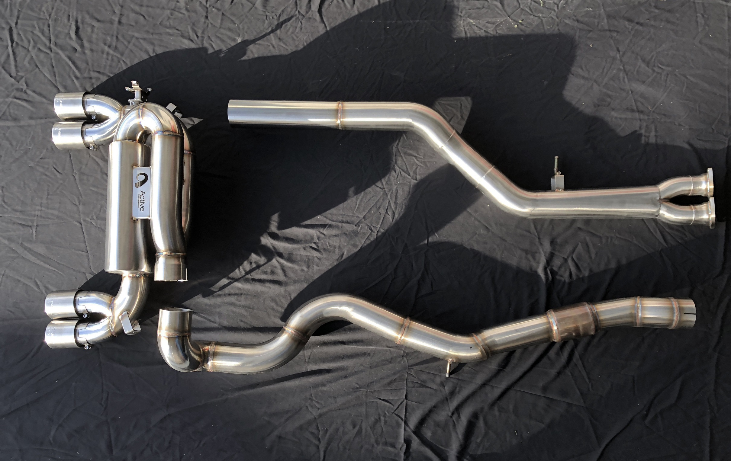 Active Autowerke - Performance Exhaust (BMW F8x M3/M4) SWATCH