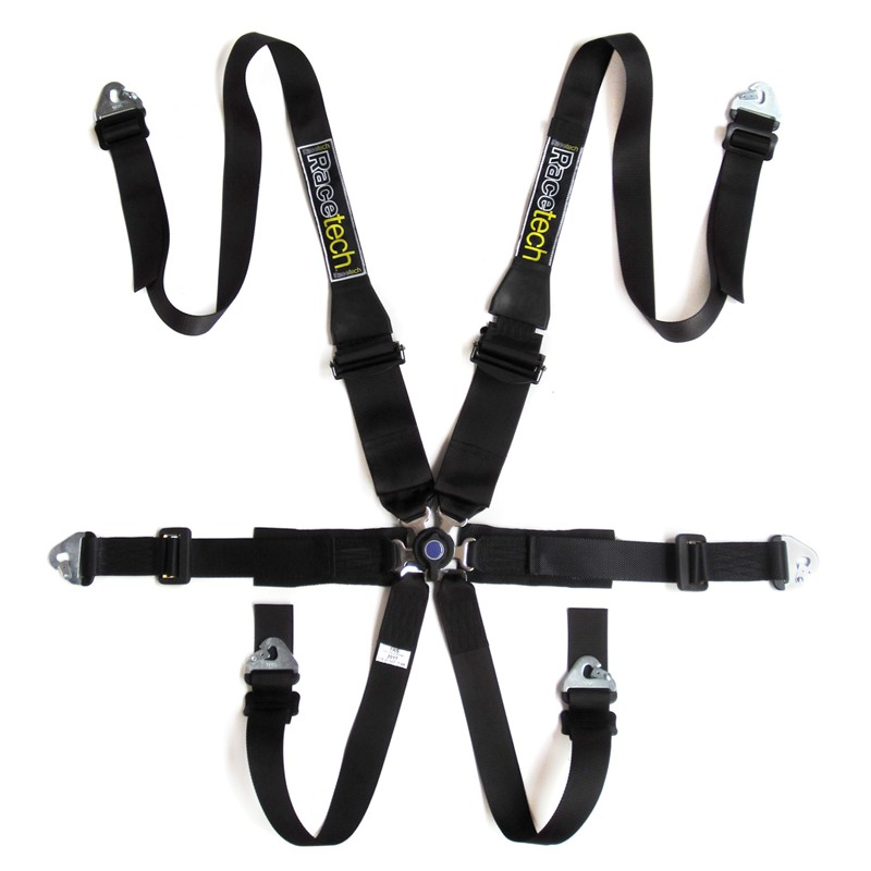 Racetech - Pro 6 Point FHR Lightweight Harness THUMBNAIL