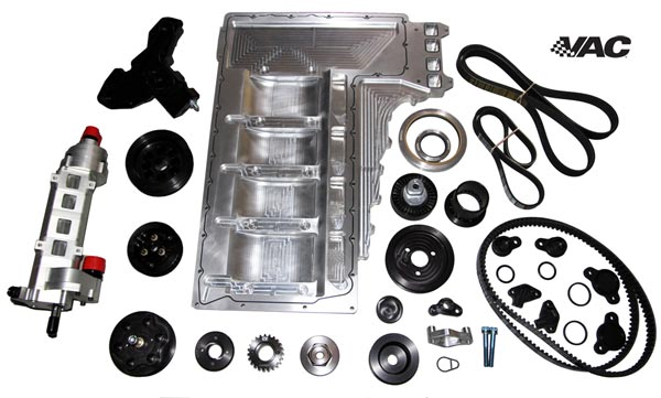 Vac Billet Dry Sump Kit S65 Bmw 8 Cylinder 3 Series E90