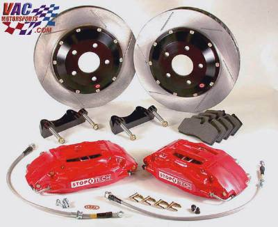 StopTech Slotted Big Brake Kit, Front 332mm BMW M3 (E46)