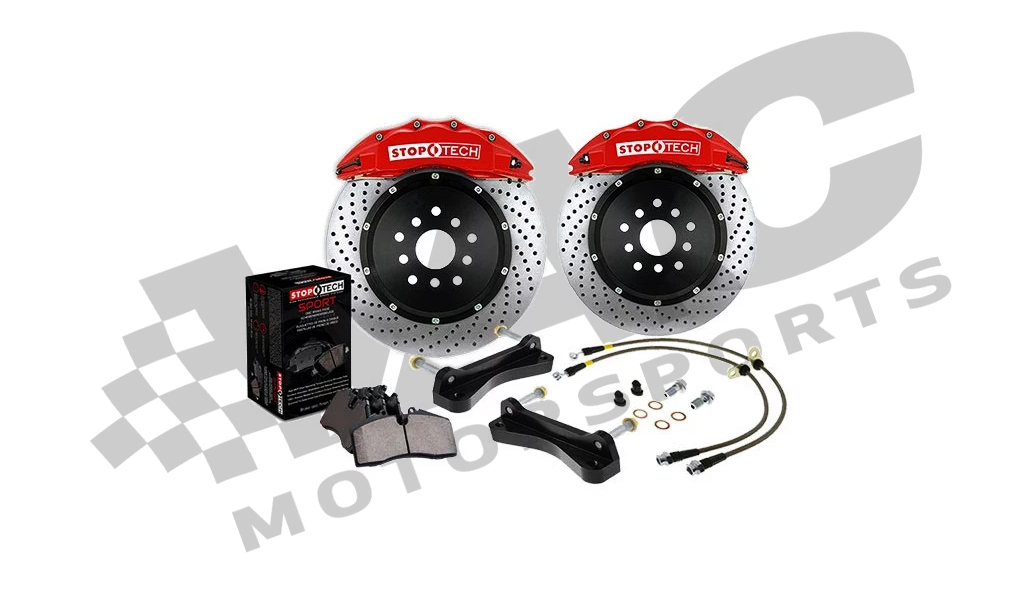 StopTech Drilled Big Brake Kit, Front 332mm BMW M3 (E46) THUMBNAIL
