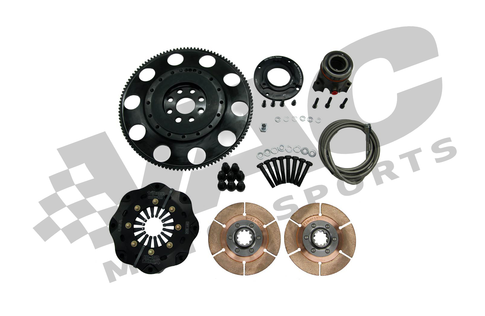 VAC Clutch and Lightweight Steel Flywheel Kit (BMW S65) MAIN
