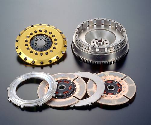 OS Giken - TR2CD Clutch and Flywheel Kit (E9x M3) THUMBNAIL