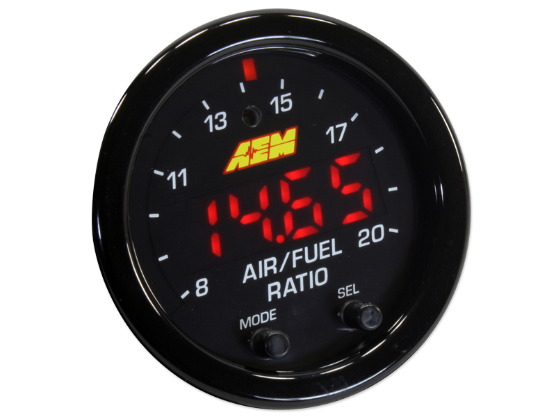 AEM - X Series Wideband OBDII UEGO Air/Fuel Ratio Gauge THUMBNAIL