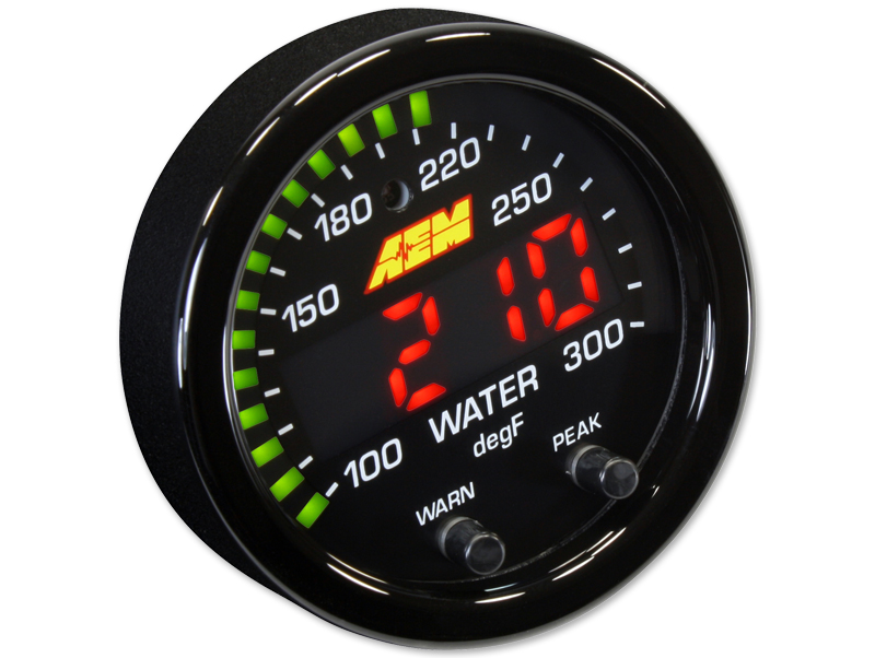 AEM - X Series 300F / 150C Temperature Gauge THUMBNAIL