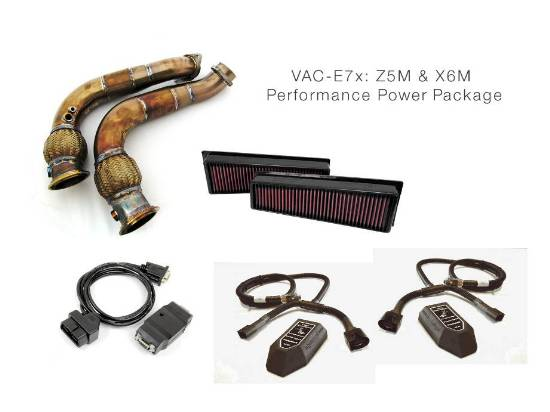 VAC Performance Power Package for BMW X5M, X6M