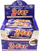 2fer Vegan Candy Bar by Go Max Go Foods - box of 12 **NEW & IMPROVED!**