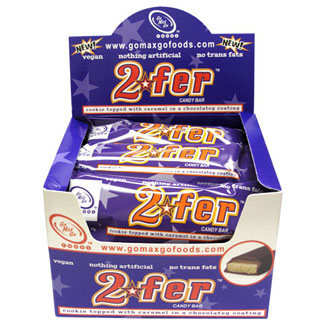 2fer Vegan Candy Bar by Go Max Go Foods - Box of 12 MAIN