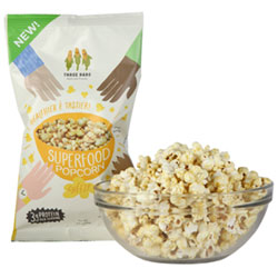 Three Dads Cheezy Superfood Popcorn - Small bag THUMBNAIL