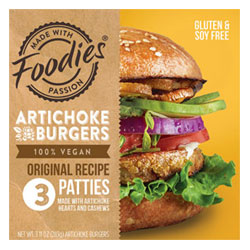 Original Artichoke Burger by Foodies Vegan THUMBNAIL