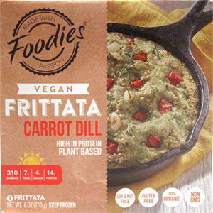 Carrot Dill Frittata by Foodies
